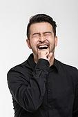 남성, 얼굴표정 (커뮤니케이션컨셉), 감정, 기쁨, 즐거움