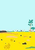 라이프스타일, 카페, 커피 (뜨거운음료), 원거리, 봄, 제주도 (대한민국), 바다, 초원 (자연의토지상태), 노천카페