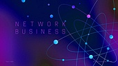 파워포인트, 메인페이지, 비즈니스, 네트워크, 연결, 5G, 미래