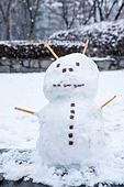 겨울, 눈 (얼어있는물), 눈사람