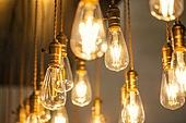 전구 (전등빛), 전기, 전기 (연료와전력발전), 조명 (발광), 강렬한빛