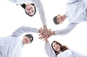 청년 (성인), 대학생, 청년문화, 협력 (컨셉), 희망, 미소, 화이팅, 손모으기 (제스처)