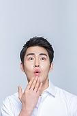 한국인, 한국인 (동아시아인), 남성 (성별), 남성, 놀람 (컨셉)