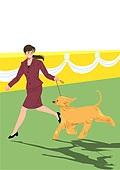라이프스타일, 문화와예술 (주제), 휴식, 취미 (주제), 애완견 (개), 반려동물, 걷기 (물리적활동)