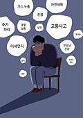 정신건강 (주제), 정신병, 건강한생활 (주제), 우울 (슬픔), 스트레스, 외상후스트레스장애 (정신병), 두려움 (컨셉)