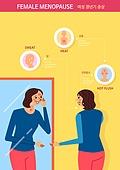 질병 (건강이상), 호르몬, 폐경기 (컨셉), 우울, 여성, 노인여자 (성인여자), 중년여자 (성인여자), 피부트러블
