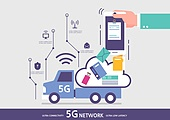 5G, 기술, 인터넷, 컴퓨터네트워크, 클라우드컴퓨팅 (인터넷), 4차산업혁명 (산업혁명), 빅데이터 (인터넷)