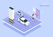 5G, 기술, 인터넷, 컴퓨터네트워크, 4차산업혁명 (산업혁명), 사물인터넷, 라이프스타일, 주차장 (인조공간), 자동차 (자동차류), 주차