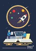 우주 (자연현상), 상상력 (컨셉), 과학, 기술, 우주비행, 우주탐험 (주제), 우주선, 과학자, 연구 (주제)