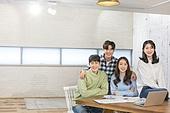 청년 (성인), 스타트업 (소기업), 비즈니스미팅 (미팅), 대학생, 토론, 협력