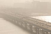 대기오염 (공해), 스모그, 대기오염, 서울 (대한민국), 한국 (동아시아), 대한민국 (한국), 공해, 환경오염, 공해 (환경오염), 마포대교
