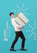그래픽이미지, 편집디자인, 포스터, 상업이벤트 (사건), 패턴, 쇼핑 (상업활동), 평면 (물체묘사), 선물 (인조물건), 남성, 선물상자