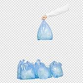 PNG, 누끼, 여성, 재활용 (환경보호), 환경보호 (환경), 플라스틱, 쓰레기 (물체묘사)