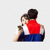 PNG, 누끼 (컷아웃), 레트로스타일 (컨셉), 구식패션 (스타일), 패션, 남성, 트레이닝복 (운동복), 여성, 미녀 (아름다운사람)