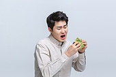 다이어트, 과식 (먹기), 폭식증 (섭식장애), 음식, 식사, 쌈, 상추, 상추잎, 채소 (음식), 편식