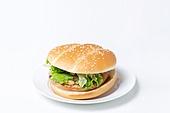 햄버거, 패스트푸드 (테이크아웃), 버거