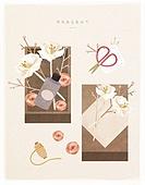 포장, 상자, 꽃, 선물 (인조물건), 선물상자 (상자), 오브젝트 (묘사), 봄, 디퓨저