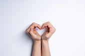 사람손, 행동 (모션), 손짓, 제스처, 행동, 모션, 신체일부 (Body Part), 하트, 사랑 (컨셉), I Love You (짧은문구), 프로포즈 (축하이벤트), 로맨스 (컨셉)