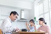 가족, 커뮤니케이션문제 (커뮤니케이션), 무관심, 식사