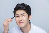 눈썹, 뷰티, 한국인, 눈화장