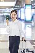 공항, 공항라운지 (공항), 출장, 떠남, 비행, 승객, 승객 (여행하기), 한국인, 한국인 (동아시아인), 여권, Passport, 출입국 (사회현상), 여행, 공항터미널 (공항)
