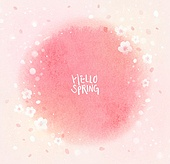 백그라운드, 번짐, 분홍 (색상), 벚꽃, 연례행사 (사건), 프레임, 꽃, 벚꽃축제