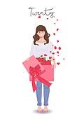 기념일, 성년의날, 성인 (인간의나이), 축하 (컨셉), 5월, 장미