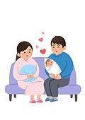 환자, 임신 (물체묘사), 탄생 (사건), 엄마, 아기 (인간의나이), 부모 (가족구성원)