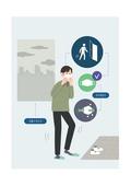 보호 (컨셉), 질병, 대기오염 (공해), 마스크 (방호용품)