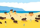 여행, 풍경 (컨셉), 카피스페이스 (콤퍼지션), 사람, 휴가, 대만 (동아시아)