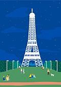 여행, 풍경 (컨셉), 카피스페이스 (콤퍼지션), 사람, 휴가, 파리 (프랑스), 에펠탑 (파리)