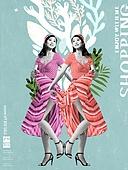 그래픽이미지, 합성 (Computer Graphics), 편집디자인, 포스터, 레트로스타일 (컨셉), 패턴, 캘리그래피 (문자), 여성, 쇼핑 (상업활동), 상업이벤트 (사건)
