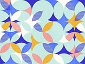 백그라운드, 원형 (이차원모양), 도형, 그리드 (패턴)