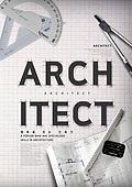 그래픽이미지, 탑앵글 (카메라앵글), 오브젝트 (묘사), 직업, 타이포그래피 (문자), 건축, 설계도 (플랜), 건축가, 제도콤파스 (측정도구)