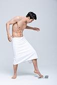 한국인, 한국인 (동아시아인), 다이어트, 체중계, 다이어트 (체형관리), 근육질, 체형관리, 체형관리 (건강한생활)