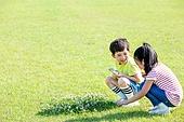 어린이 (인간의나이), 초등학생, 관찰, 미소