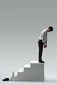 사진, 화이트칼라 (전문직), 비즈니스맨 (사업가), 취업준비생 (역할), 구직 (실업), 고용문제 (주제), 스트레스, 스트레스 (컨셉), 고통 (컨셉), 실업 (고용문제), 실패 (컨셉), 패배 (실패), 자살