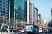 자동차, 거리 (도시도로), 교통, 육상교통수단, 교통체증 (교통), 러시아워 (주제), 도시거리, 테헤란로
