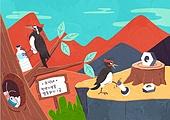 동물, 일러스트, 멸종, 멸종위기동물, 멸종위기동물 (동식물), 천연기념물, 자연 (주제), 환경오염