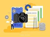 경제, 공유 (컨셉), 일러스트, 비즈니스, 공유경제 (경제), 카메라, 영상