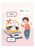 어린이 (인간의나이), 교육 (주제), 수학 (교과목), 무게, 저울, 고양이 (고양잇과)
