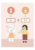 어린이 (인간의나이), 교육 (주제), 수학 (교과목), 토끼 (토끼목), 점안기 (약)