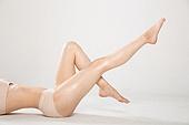 여성, 신체일부, 피부, 사람다리
