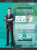 웹템플릿, 이벤트페이지, 상해 (건강이상), 보험 (주제), 건강한생활 (주제), 상해보험, 그래프, 자동차, 자동차보험 (보험), 교통사고