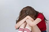 한국인, 여성, 피로 (물체묘사), 스트레스 (컨셉), 우울 (슬픔)