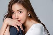 한국인, 여성, 미녀 (아름다운사람), 포즈 (몸의 자세)