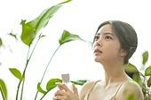 뷰티, 성인여자 (여성), 여성, 식물, 의료성형뷰티 (주제), 화장품 (몸단장제품)