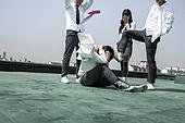 고등학생, 반항청소년, 괴롭힘 (사회이슈), 폭력, 학교폭력, 왕따