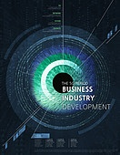 그래픽이미지, 포스터, 4차산업혁명 (산업혁명), 5G, 컴퓨터네트워크 (컴퓨터장비), 미래, 산업, 인공지능
