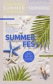 그래픽이미지, 상업이벤트 (사건), 이벤트페이지, 여름, 휴가 (주제), 비키니, 해변, 레트로스타일
